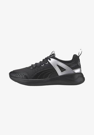 NUAGE RUN CAGE METALLIC - Stabilty running shoes - black-silver