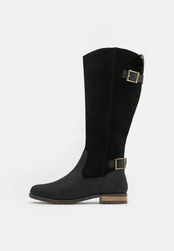 ELIZABETH - Vysoká obuv - black
