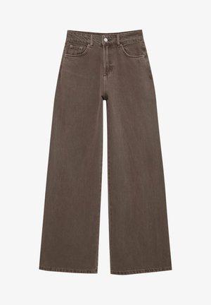 BUNTE  - Jean flare - brown