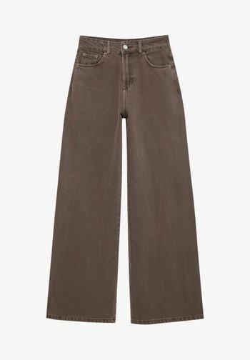 BUNTE  - Jeans a zampa - brown