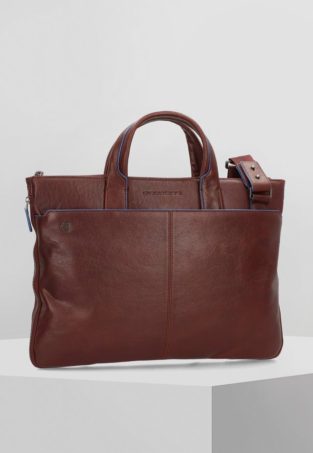 BLUE SQUARE SPECIAL  - Sac ordinateur - dark brown