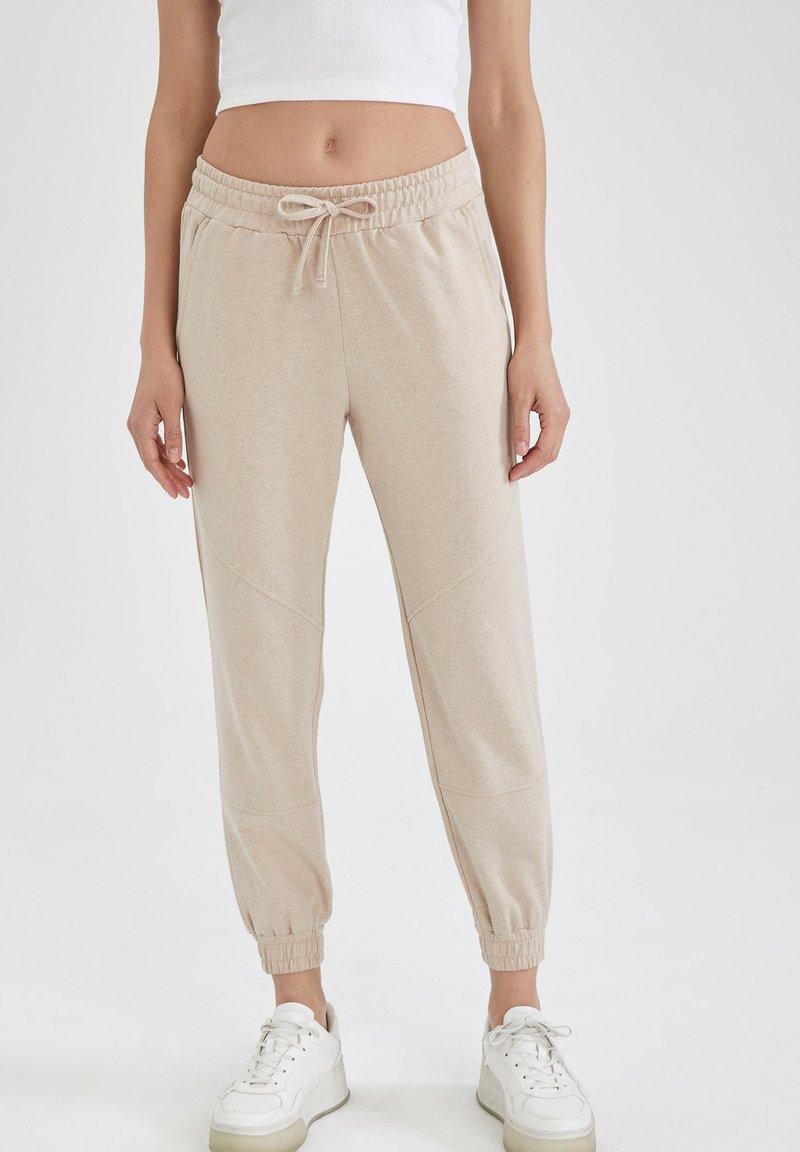 DeFacto - Pantalon de survêtement - beige