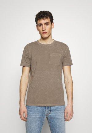 SCOLD - Basic T-shirt - tan
