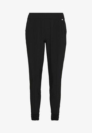 JOGGER - Spodnie materiałowe - black