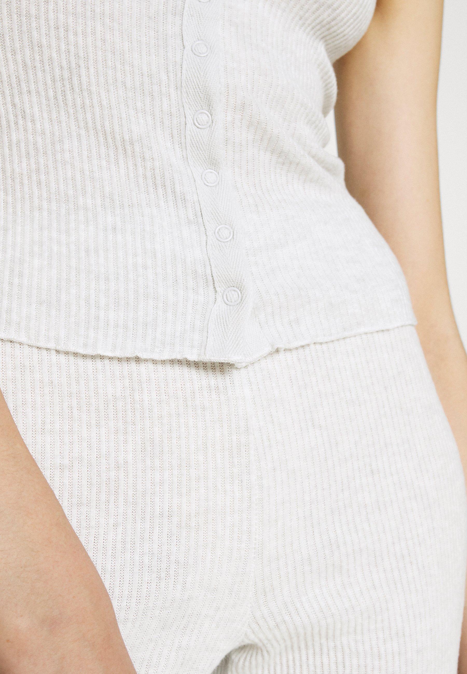 Damer SUPER SOFT TANK AND PANT  - Pyjamaser - soft grey marle
