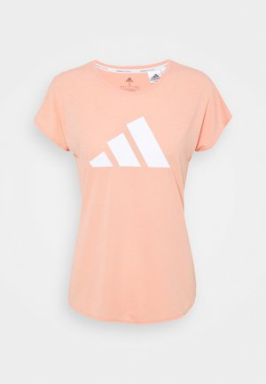 3 BAR DESIGNED4TRAINING AEROREADY - T-shirts med print - ambient blush/white