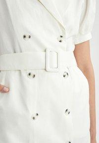 DeFacto - Shirt dress - white - 4