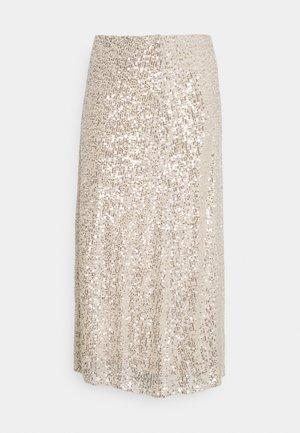FLO - Maxi skirt - silver