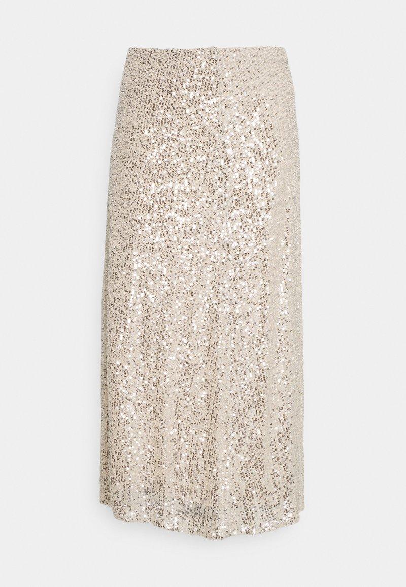 Part Two - FLO - Maxi skirt - silver