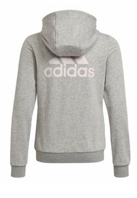 adidas Performance - Sweat à capuche zippé - grey - 1