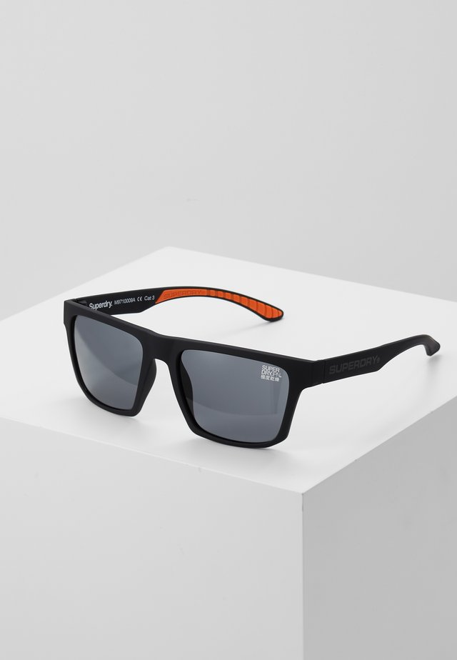 COMBAT - Sluneční brýle - rubberised black