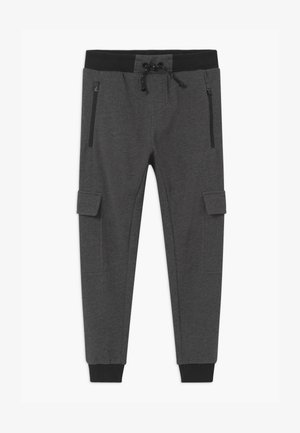 NKMOAKOB - Tracksuit bottoms - dark grey