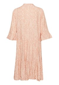 Saint Tropez - Day dress - terra cotta zig zebra - 6