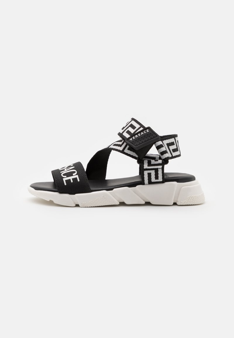 Versace - Sandals - black/white