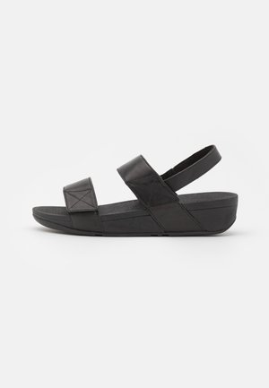 MINA - Platåsandaler - all black
