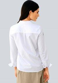 Alba Moda - Button-down blouse - weiß,beige - 1