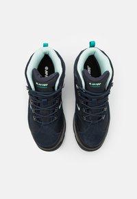 Hi-Tec - STORM WP WOMENS - Hiking shoes - sky captain/mint/navigate - 3
