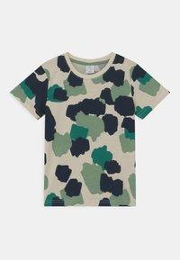 Lindex - MINI - T-shirt print - light beige - 0