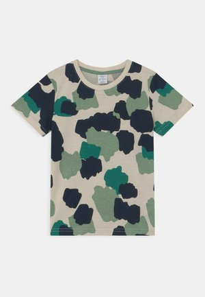 MINI - T-shirt med print - light beige
