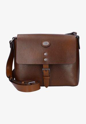 LORENZO  - Across body bag - marrone