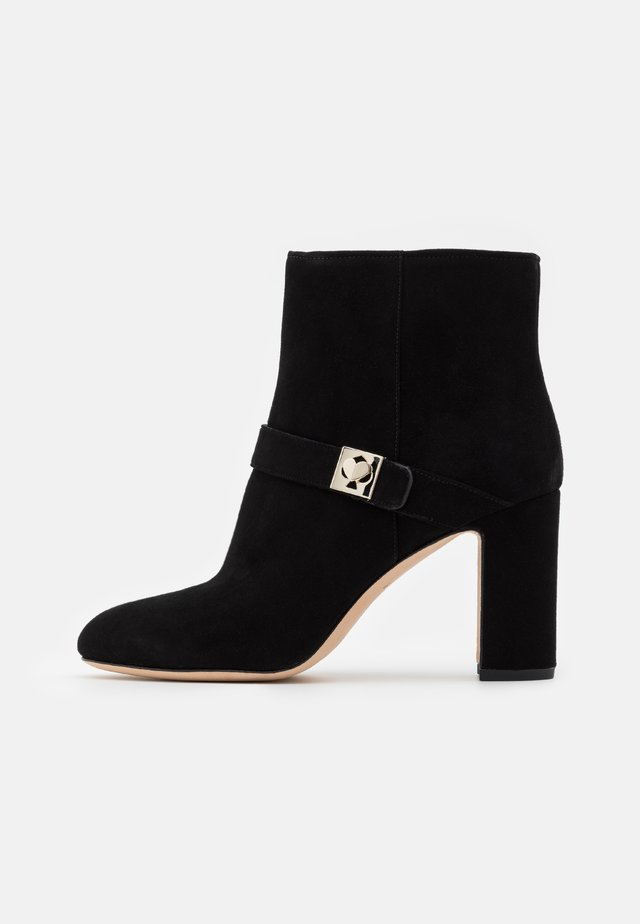 TINA FITTED - Bottines à talons hauts - black