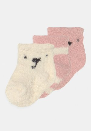 COZY 3 PACK UNISEX - Socks - light pink