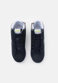 Diadora - GAME S HIGH UNISEX - Sports shoes - blue nights/ash - 3
