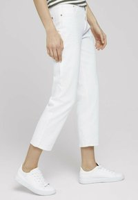 TOM TAILOR - Straight leg jeans - whisper white - 3