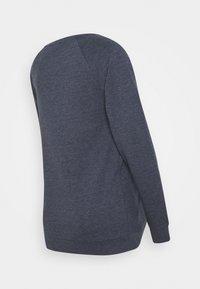 LOVE2WAIT - NURSING CROSS OVER - Sweatshirt - blue - 1
