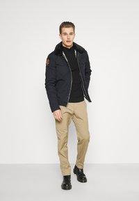 Schott - JEEPER - Winter jacket - navy - 1