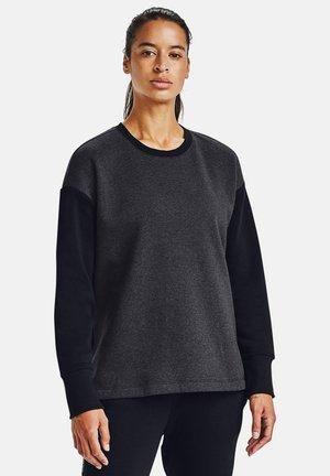 Sweatshirt - black medium heather