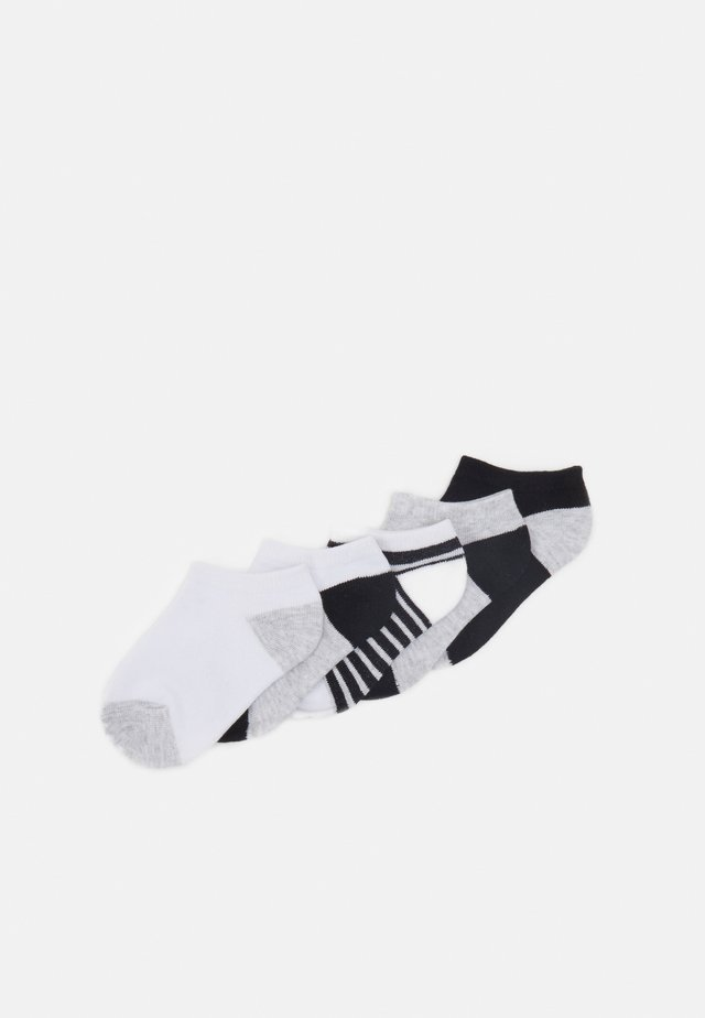 KIDS ANKLE SOCK 5 PACK - Trainer socks - navy white grey
