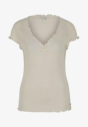 Camiseta básica - soft creme beige