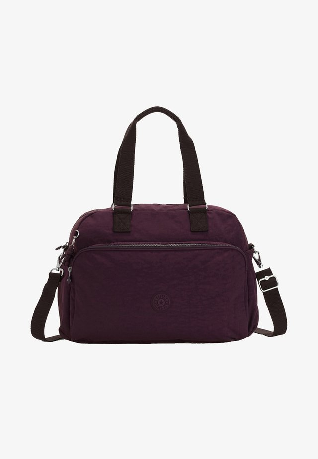 BASIC JULY - Weekend bag - dark plum
