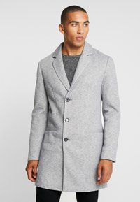 Pier One - Classic coat - mottled grey - 0