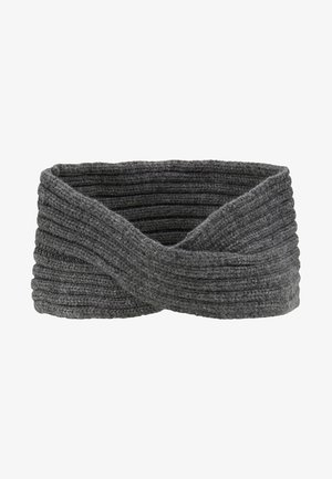 Ear warmers - dark grey melange