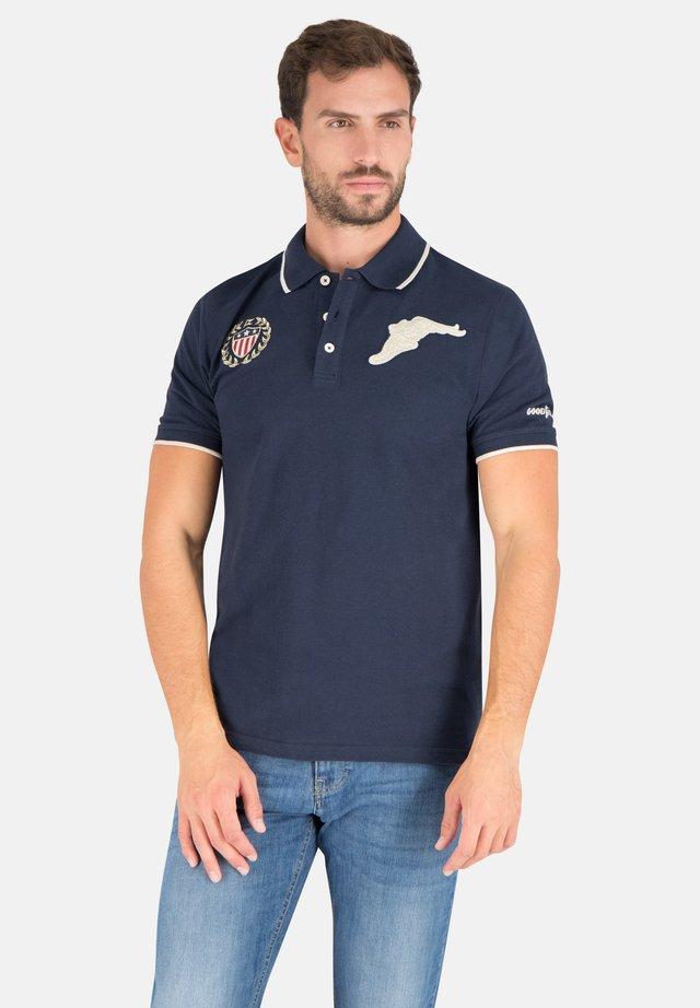 DARLINGTON - Polo shirt - real navy
