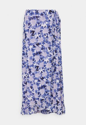 BOBO FRILL SKIRT - Wrap skirt - marigold lilac