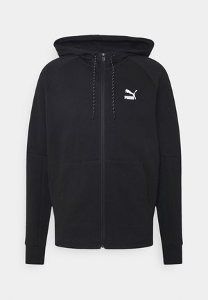 CLASSICS TECH HOODIE - veste en sweat zippée - puma black