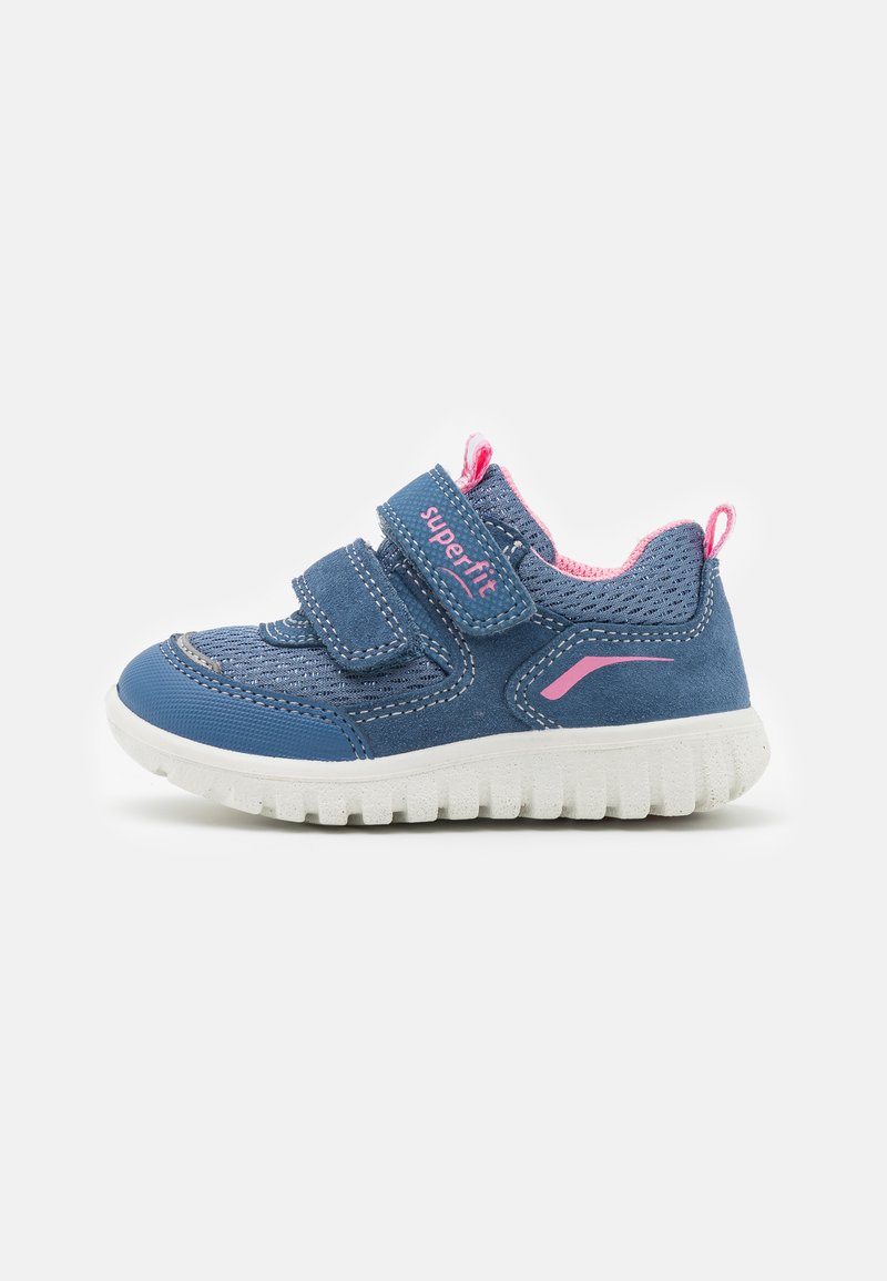 Superfit - SPORT7 MINI - Trainers - blau/rosa