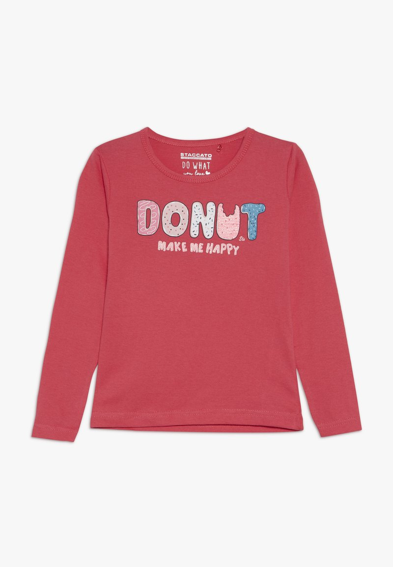 Staccato - KID - Long sleeved top - shugar red