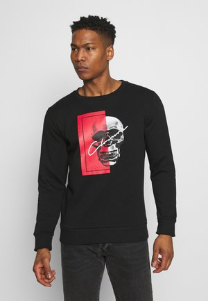 SPLIT SKULL - Sweatshirt - black