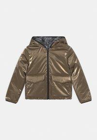IKKS - REVERSIBLE WINTER - Winter jacket - navy foncé/or - 0