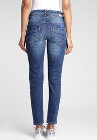 Gang - MASSIMA - Slim fit jeans - indigo basic - 1