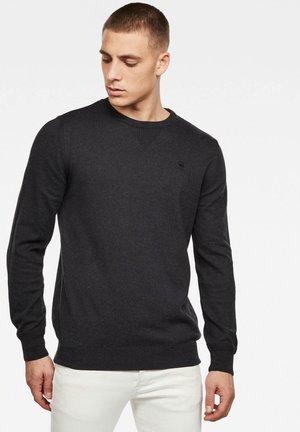 PREMIUM BASIC - Pullover - dk black htr