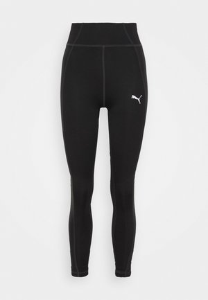 HIGH WAIST FABRIC BLOCK  - Leggings - black