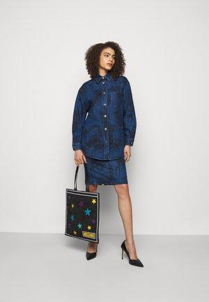 SKIRT - Denim skirt - fantasy blue