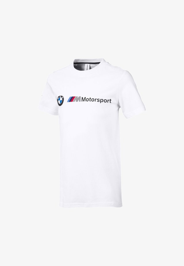 MOTORSPORT LOGO - T-shirt print - puma white