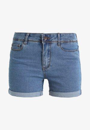 VMHOT  - Denim shorts - medium blue denim