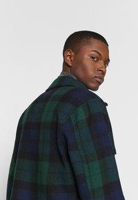 J.CREW - ZIP FRONT BLACKWATCH - Summer jacket - green black - 4